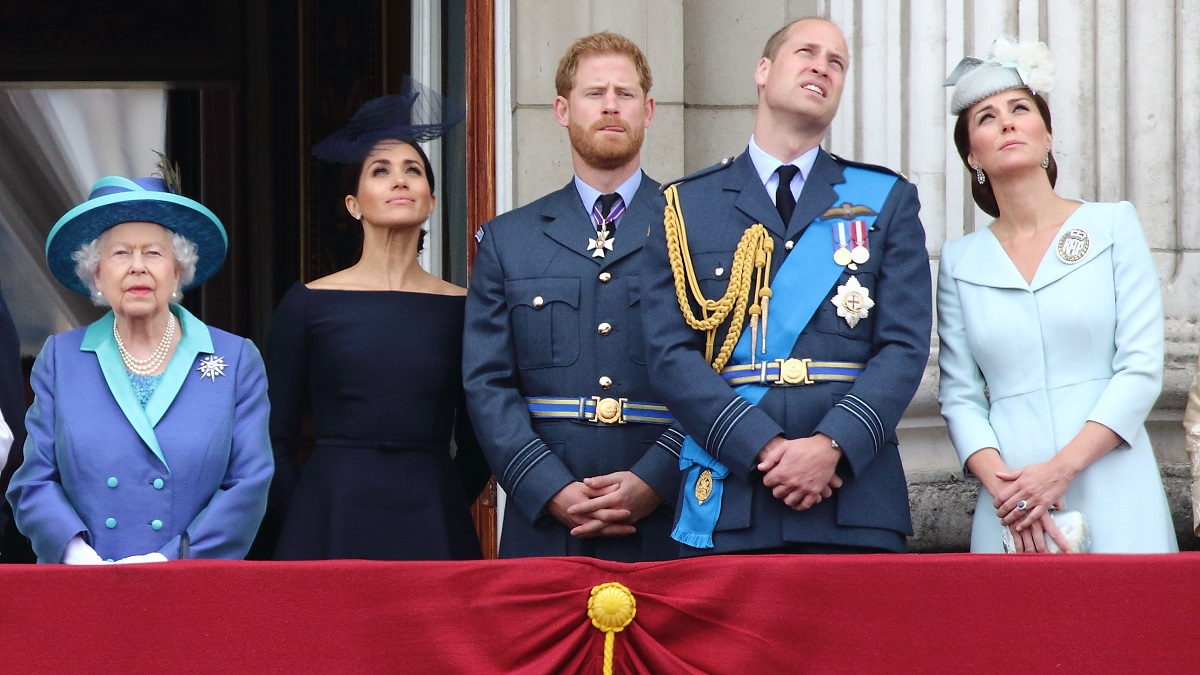 The Sussexes and the Cambridges