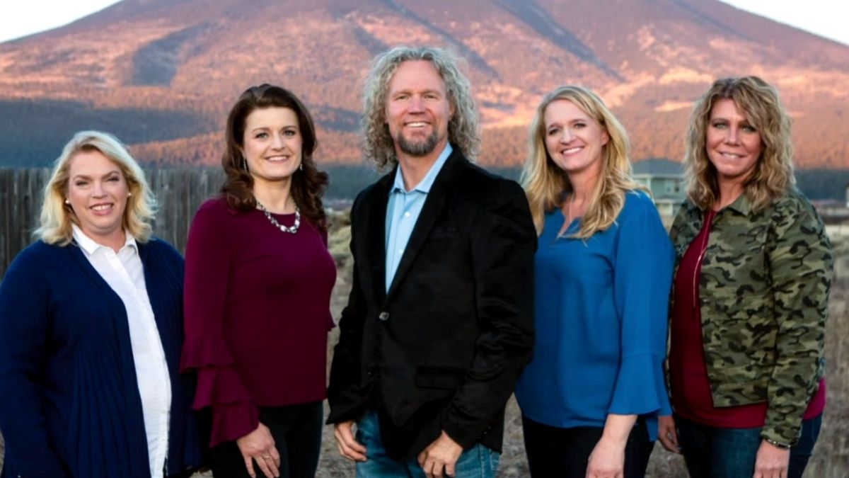 Meri Brown and her spouses of Sister Wives