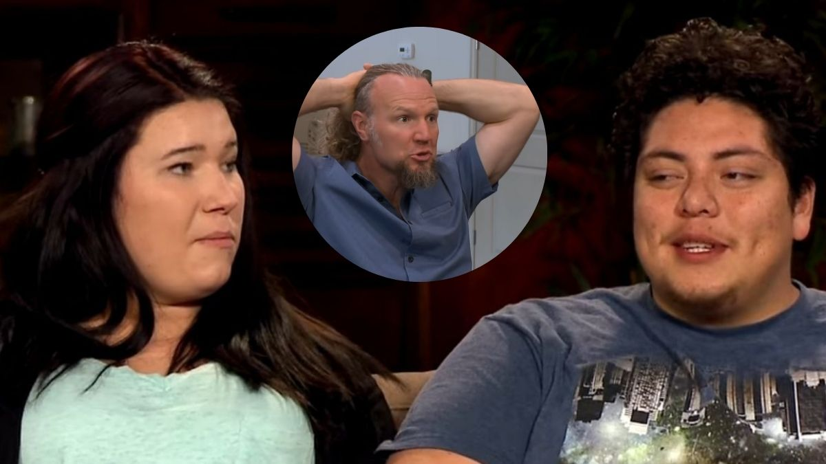 Mykelti and Tony Padron and Kody Brown of Sister Wives