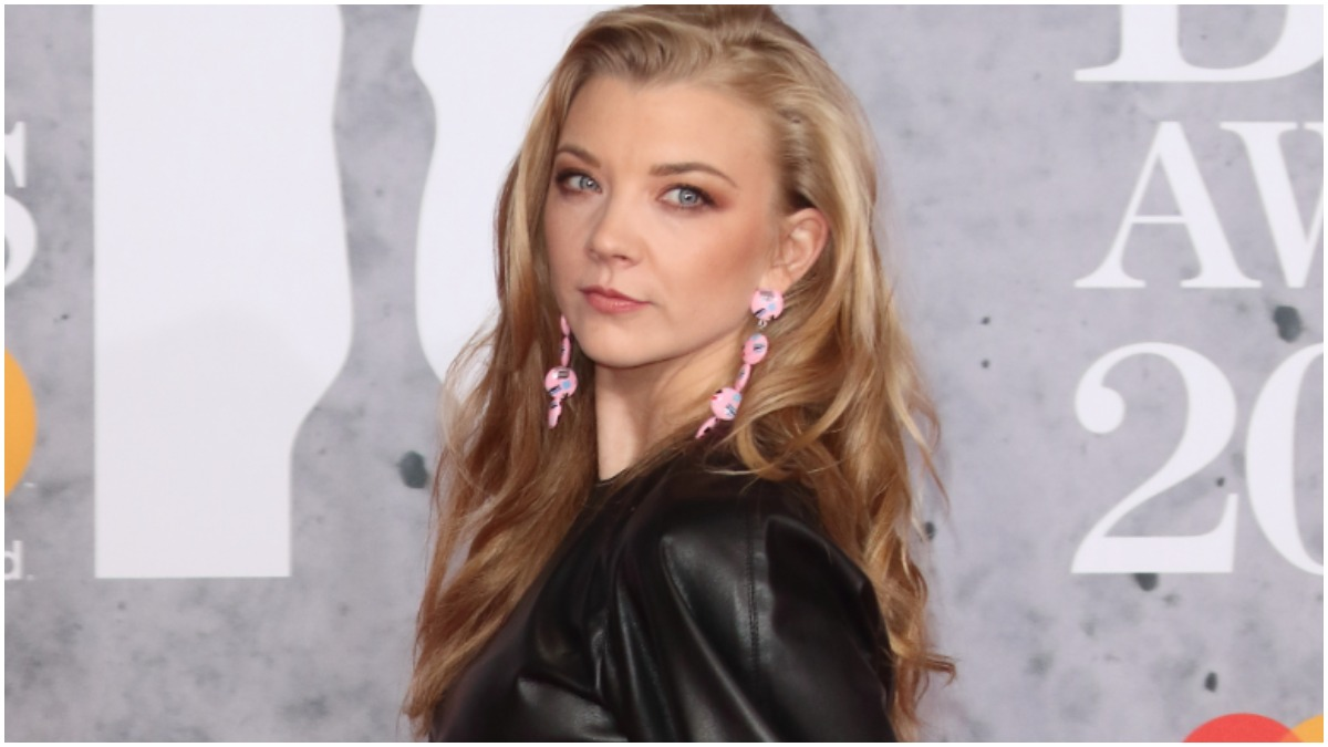 Natalie Dormer at The BRIT Awards at The O2, Peninsula Square, London on 20th February 2019