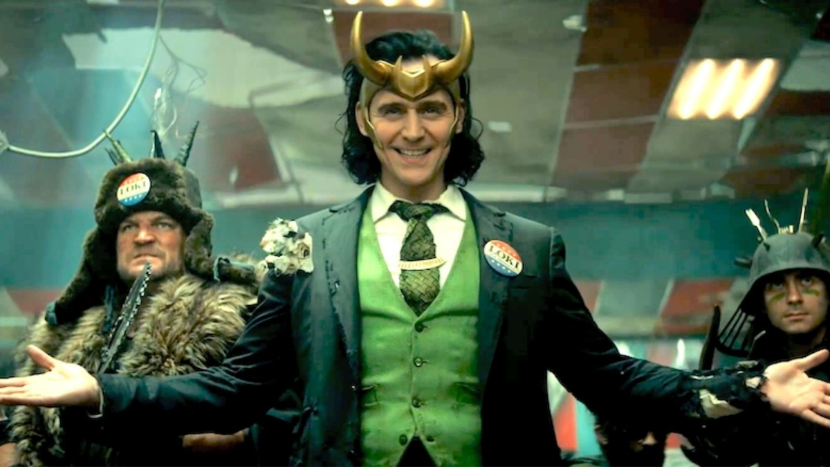 Loki from his new trailer.
