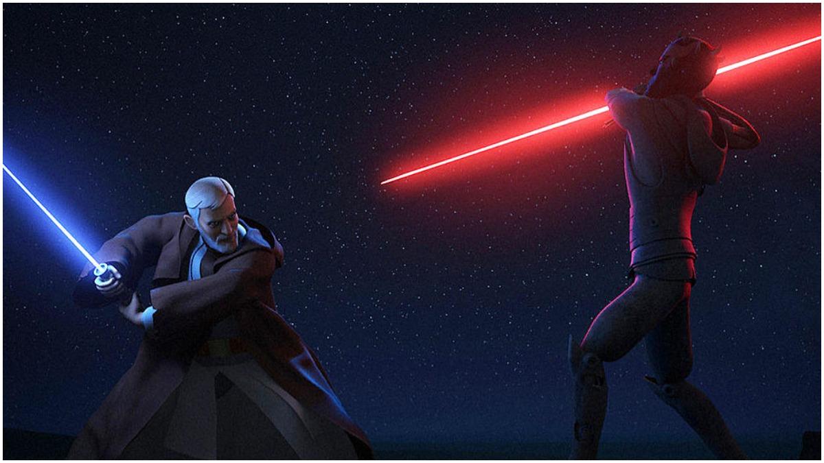 Obi-Wan vs Maul