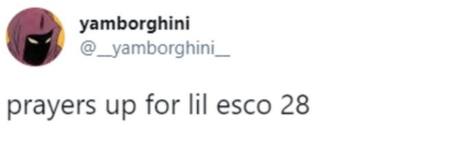 Prayers for Lil Esco 28