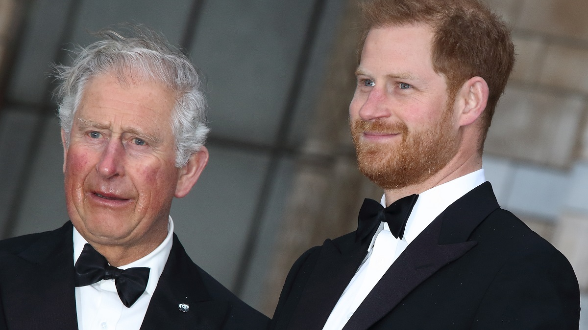 Prince Charles and son, Harry