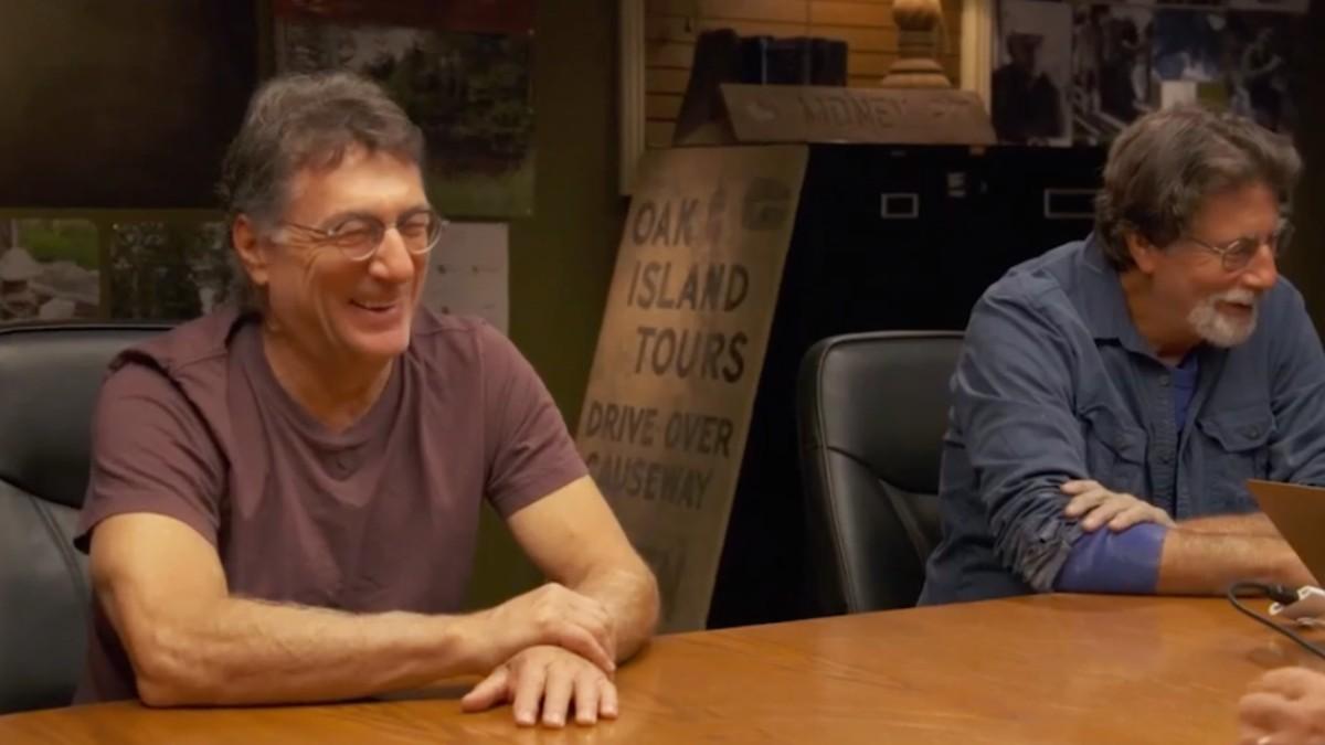 Rick and Marty Lagina smiling