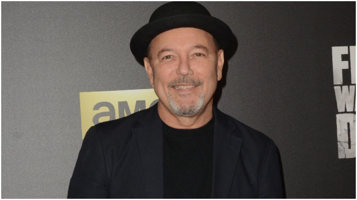 "Ruben Blades attends AMC's ""Fear The Walking Dead"" Season 2 Premiere held at Cinemark Playa Vista"