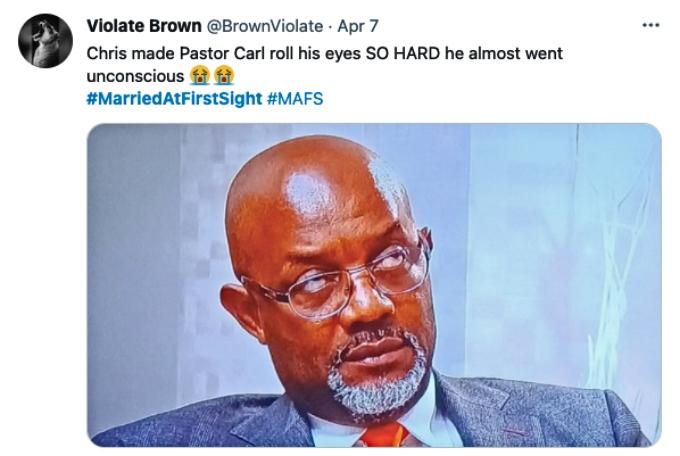 Twitter fans bash MAFS star Chris Williams