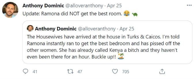 screenshot from journalist Anthony Dominic.