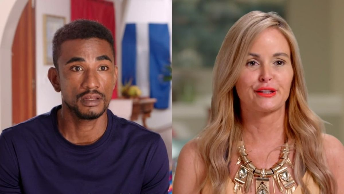 Stephanie and Harris from 90 Day Fiance