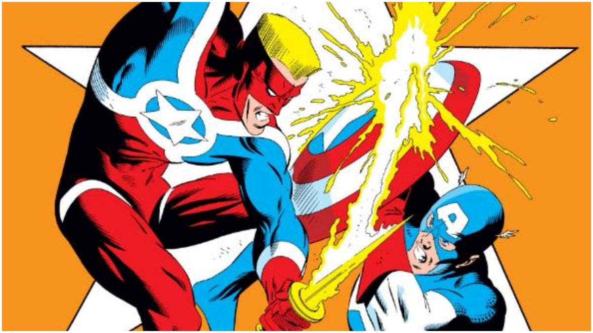 Super Patriot vs Captain America