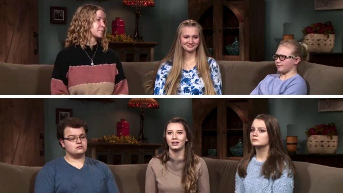 Gwendlyn, Ysabel, Truely, Dayton, Aurora and Breanna Brown of Sister Wives