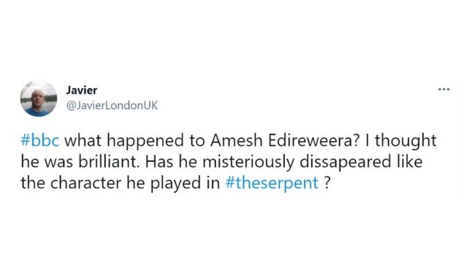 Screenshot of tweet.