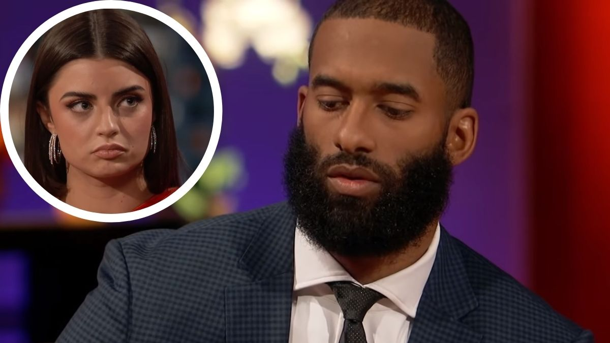 Matt James and Rachael Kirkconnell on The Bachelor