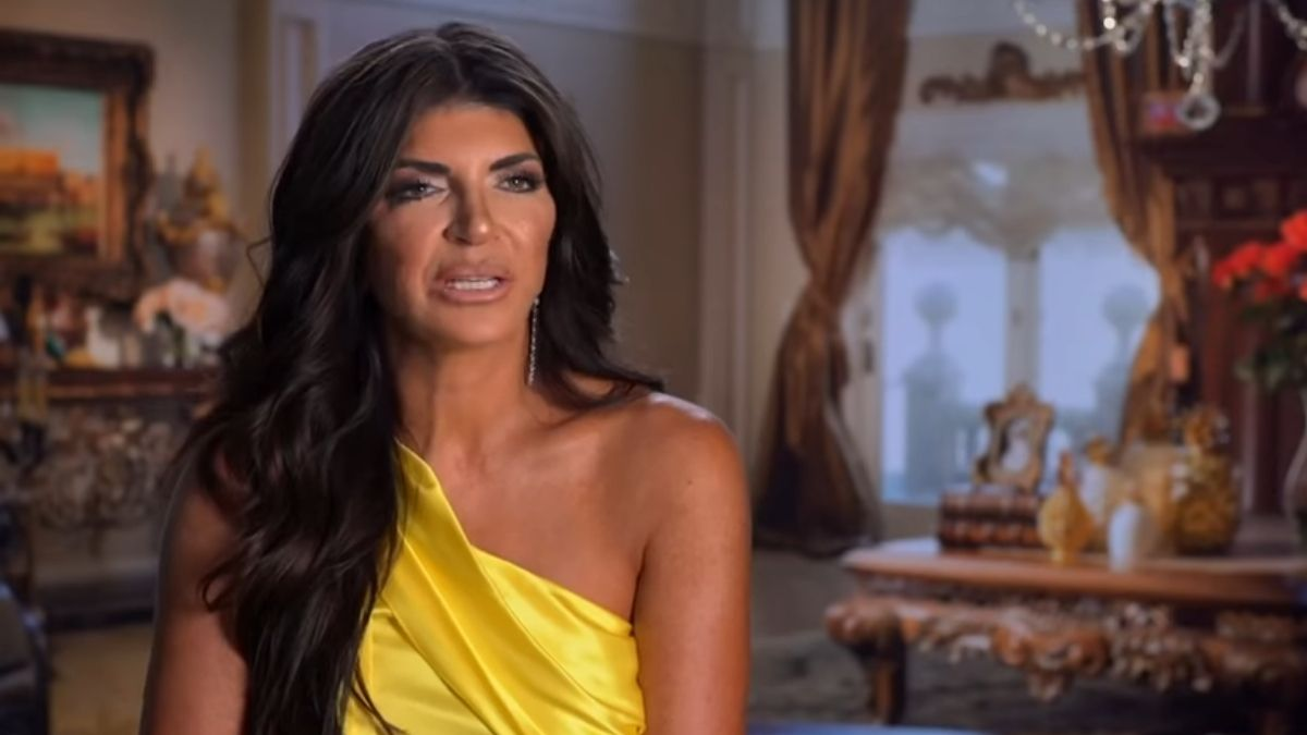Teresa Giudice on an episode of RHONJ
