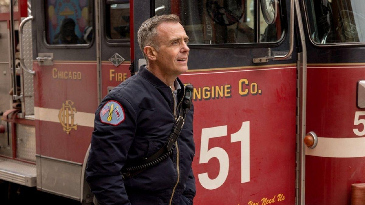 David Eigenberg as Christopher Herrmann in Chicago Fire
