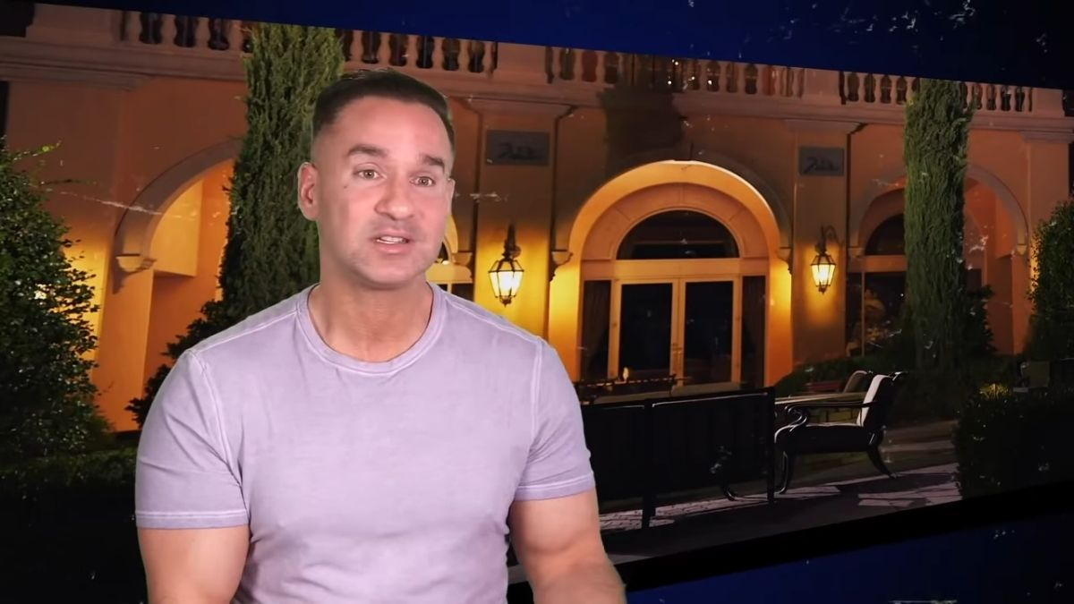 Mike Sorrentino on Jersey Shore Family Vacation