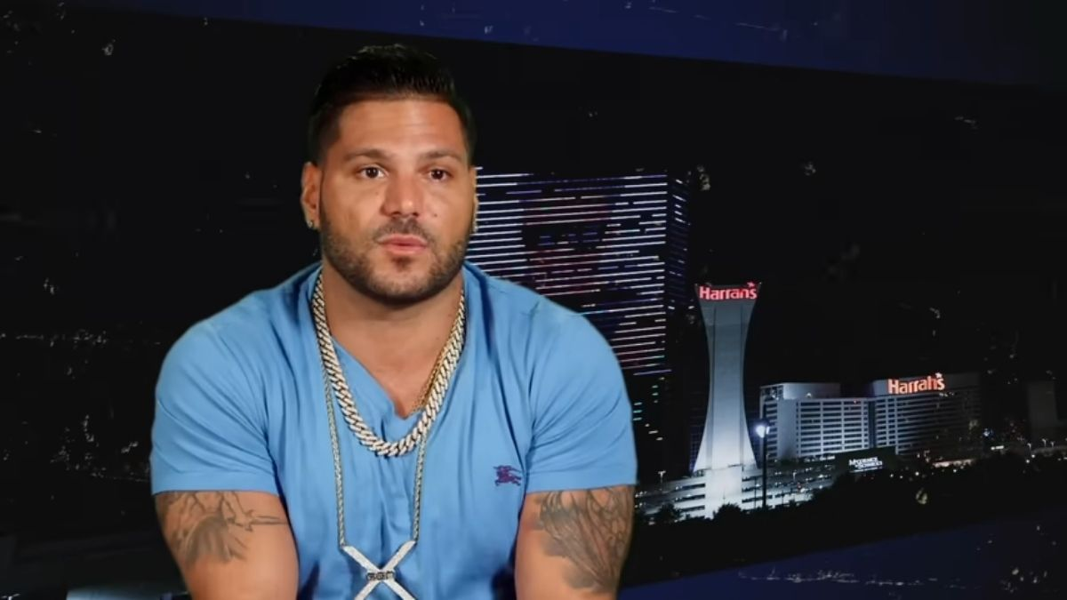 Ronnie Ortiz-Magro of Jersey Shore Family Vacation