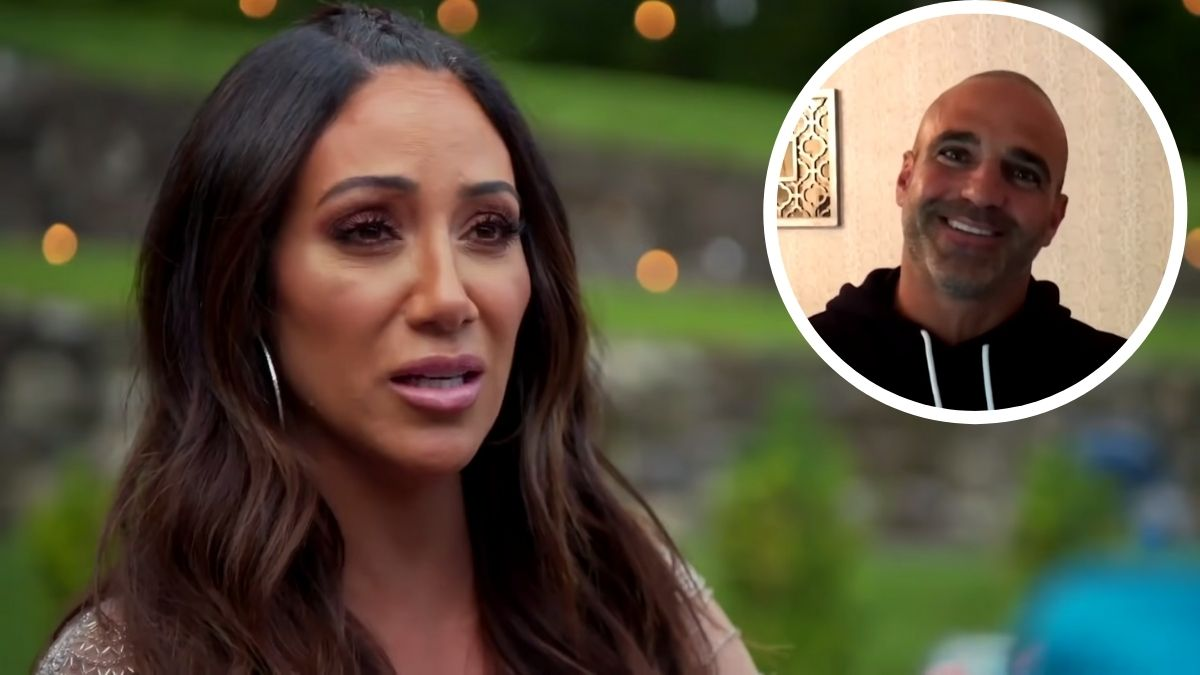 Melissa Gorga and Joe Gorga from Real Housewives of New Jersey