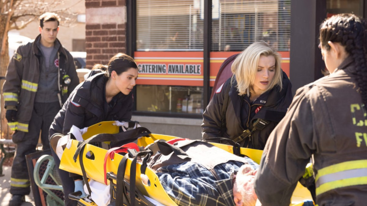 Violet And Brett Chicago Fire