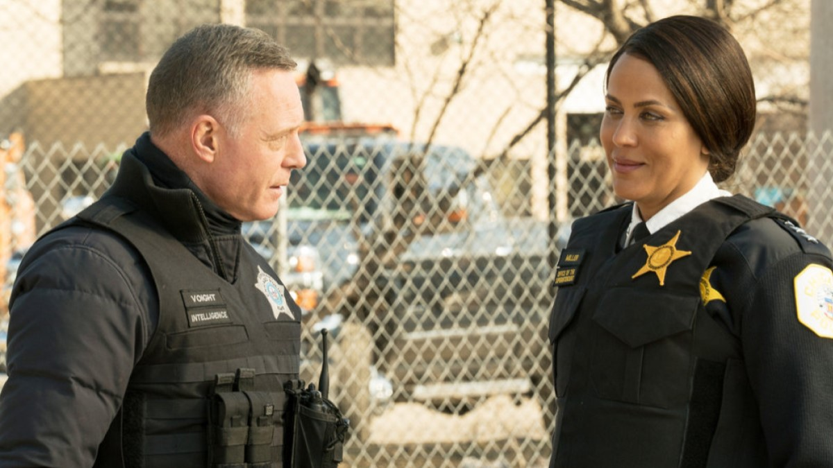 Voight And Boss Chicago PD