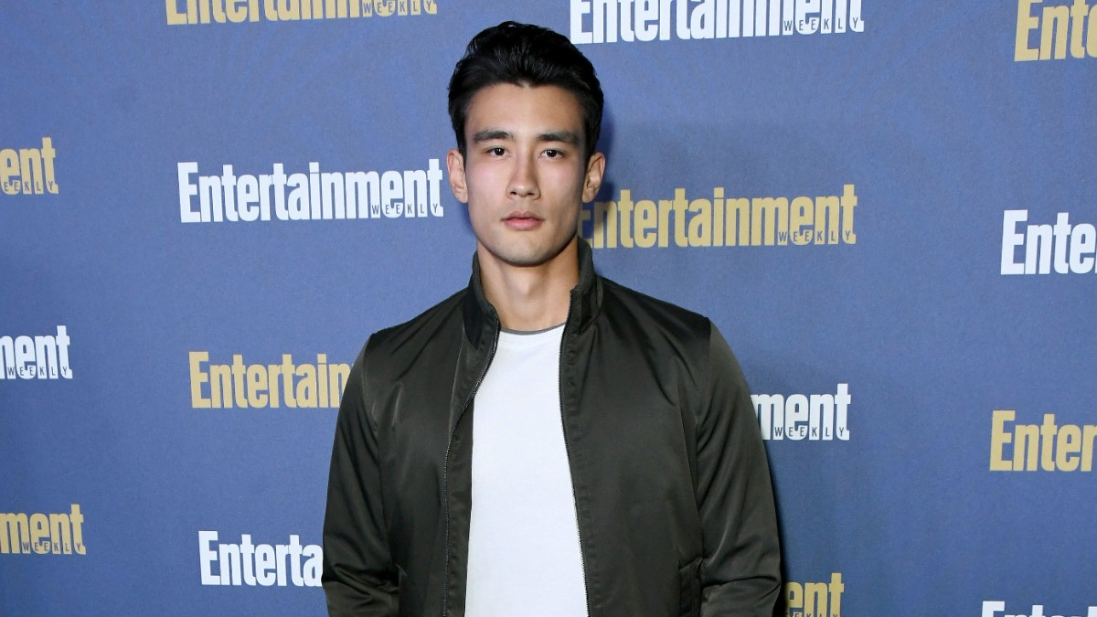 Alex Landi on the red carpet