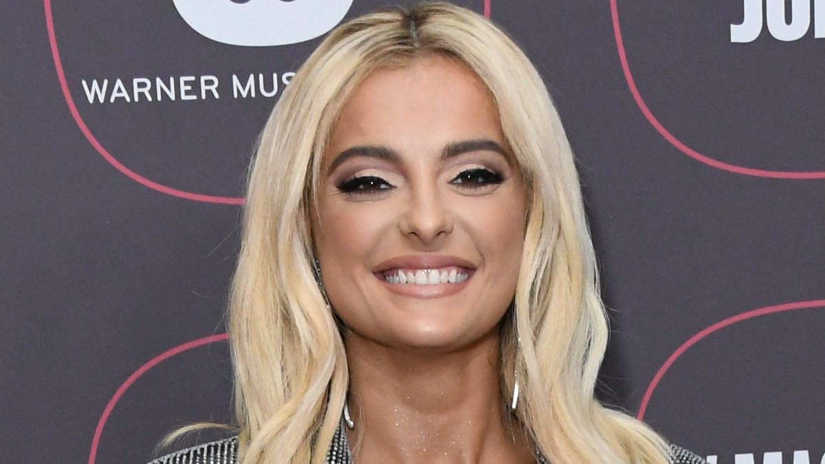 Bebe Rexha on the red carpet