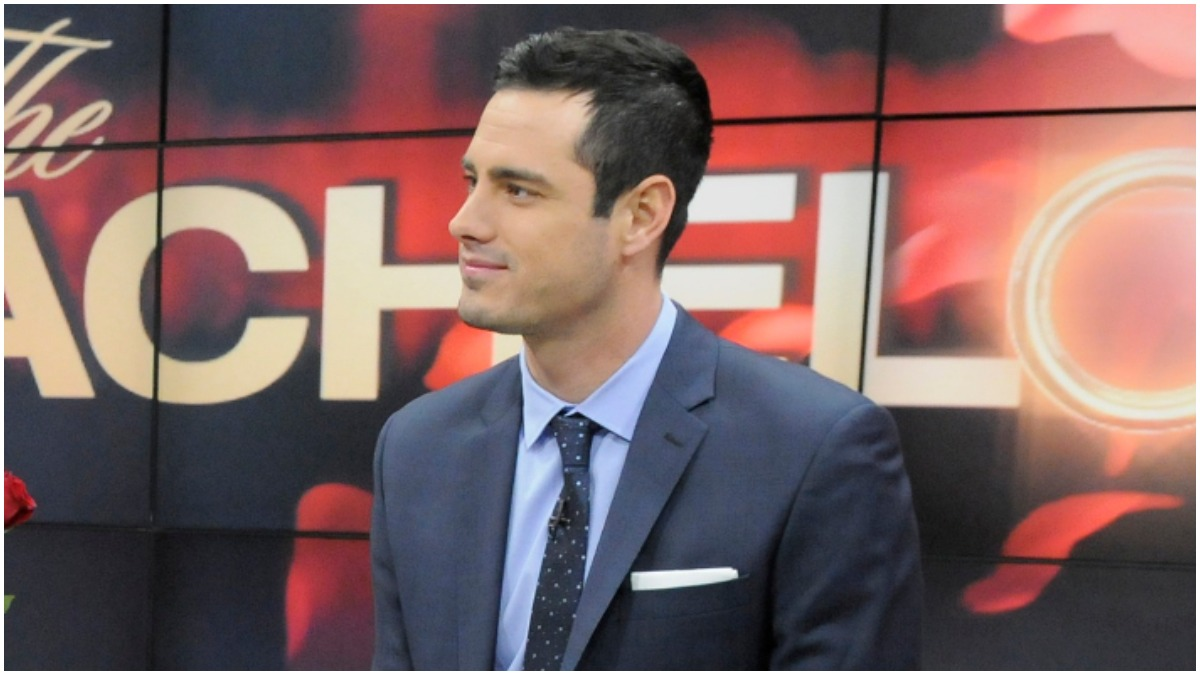 Ben Higgins was a lead on The Bachelor.