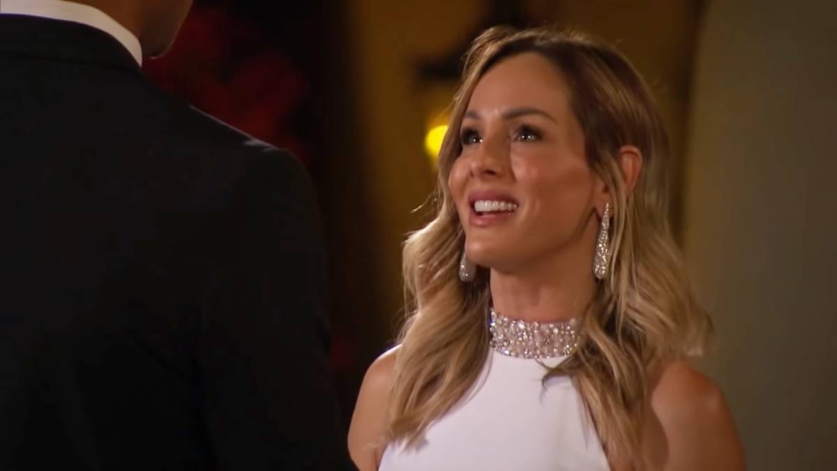 Clare Crawley films for The Bachelorette