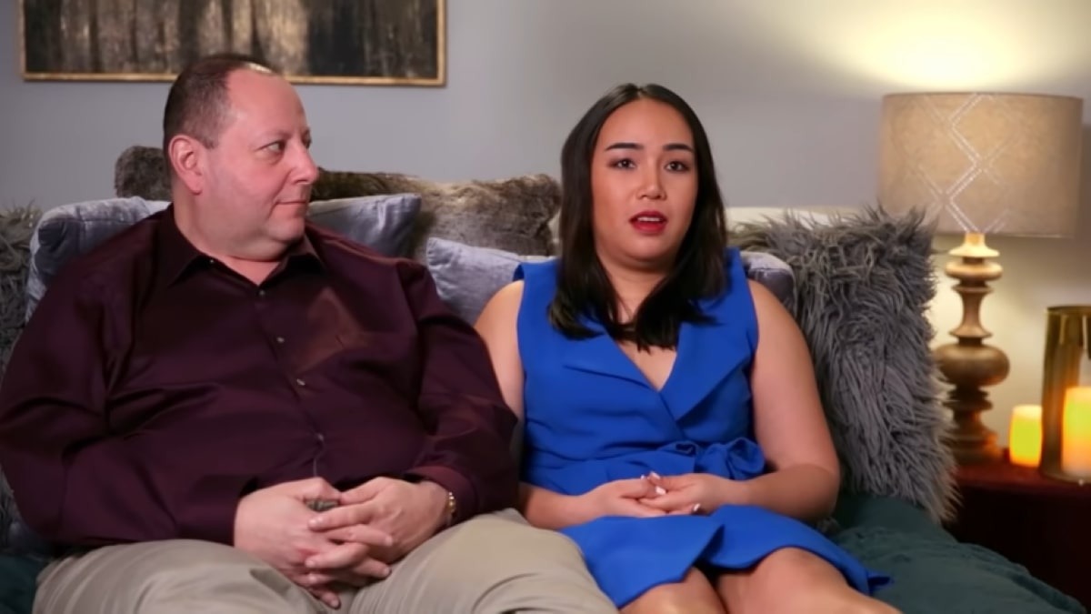 90 Day Fiance couple David Toborowsky and Annie Suwan,