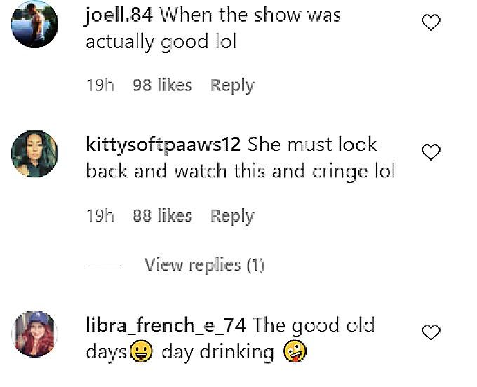 deena cortese fan comments