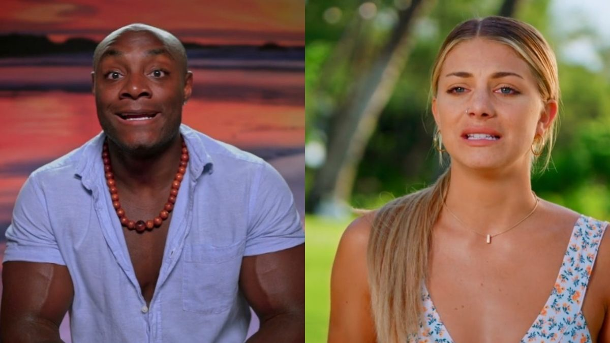 Erin and Shaquille from Temptation Island