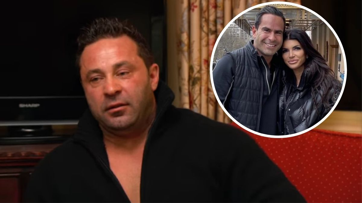 RHONJ ex-husband Joe Giudice, Teresa Giudice and her boyfriend, Louie.