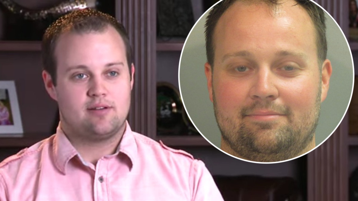 Josh Duggar and his mugshot