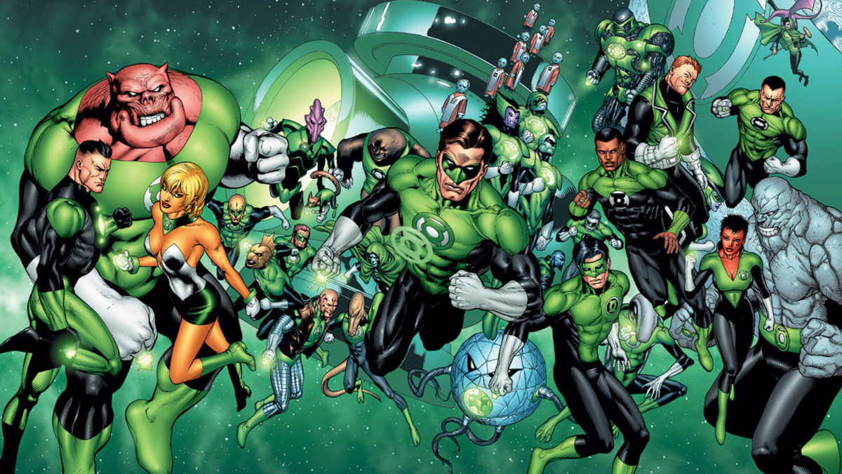 Green Lantern in Justice League Corps.