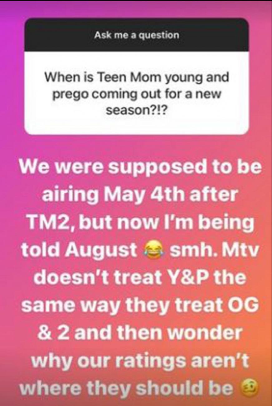 Kayla Sessler Instagram story