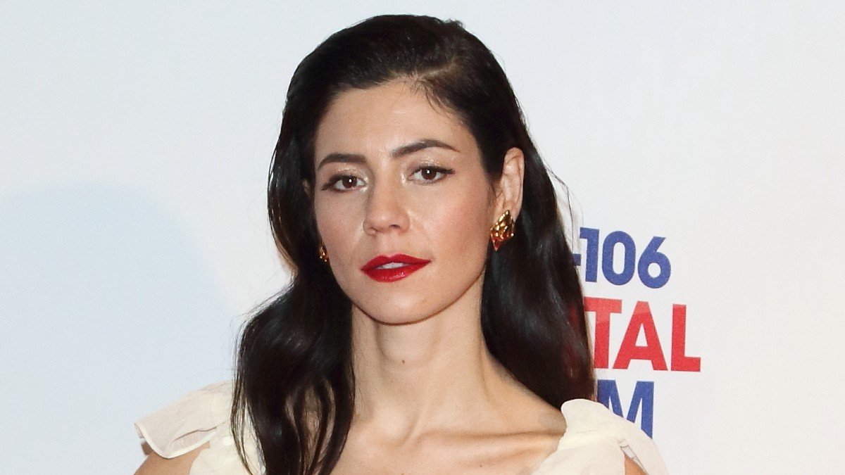 Marina on the red carpet