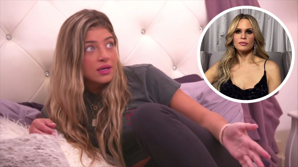 Bravo kid Gia Giudice is sharing more details about Jackie Goldschneider's analogy