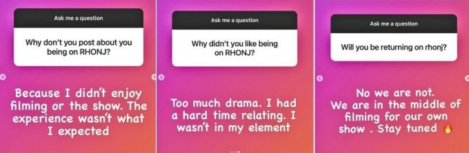 Michelle Pais talks about RHONJ
