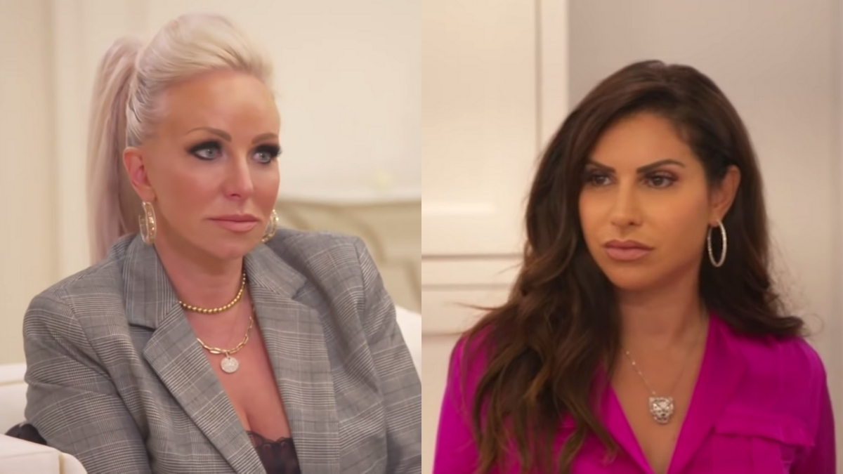 RHONJ cast mates Jennifer Aydin and Margaret Josephs have another tense moment in latest episode
