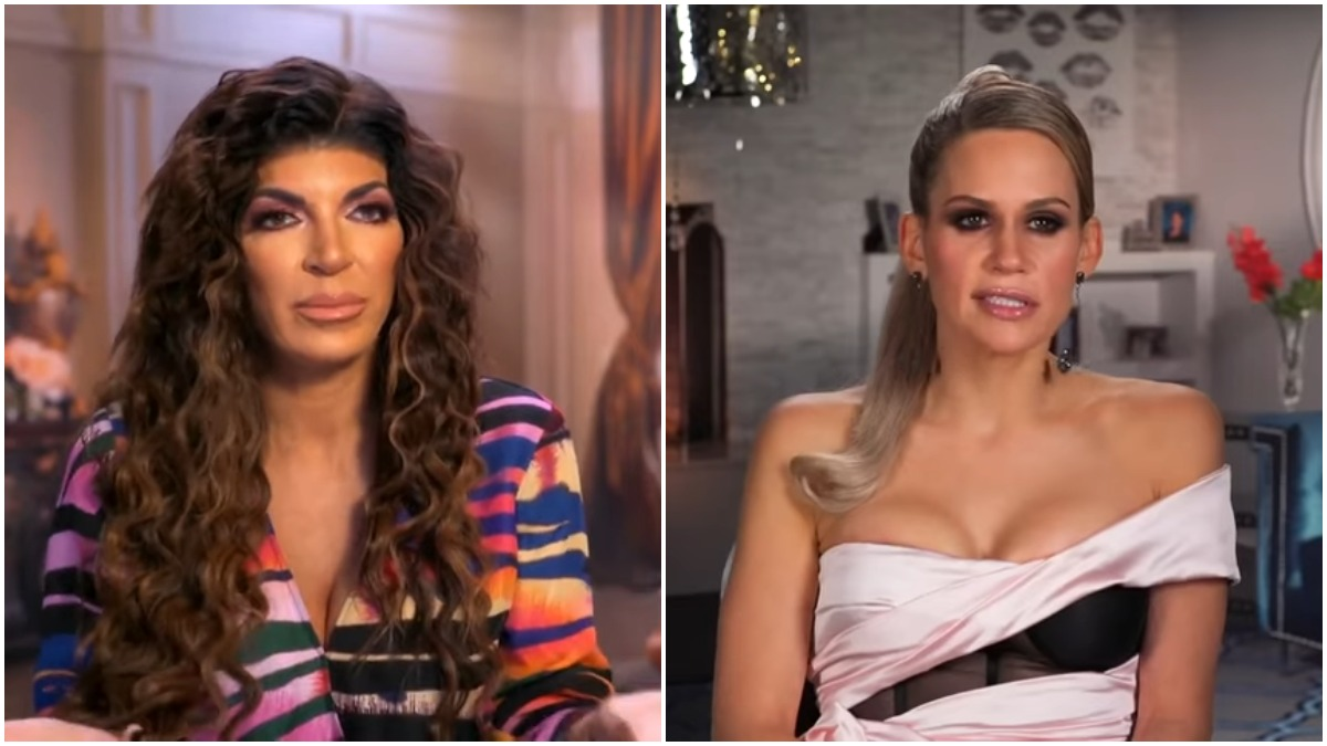 Jackie Goldschneider and Teresa Giudice on RHONJ