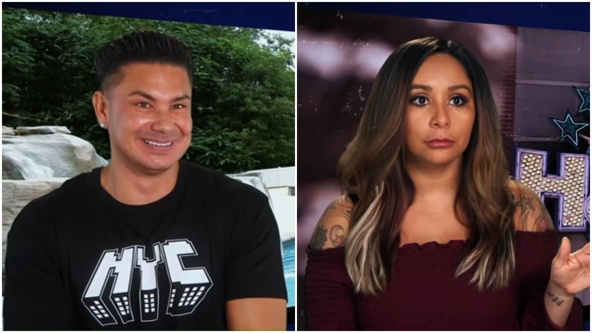 Pauly D and Snooki on Jersey Shore Family Vacation