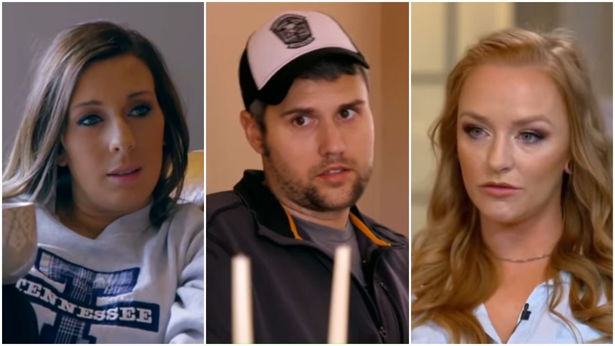 Mackenzie Edwards, Ryan Edwards and Maci Bookout on Teen Mom OG