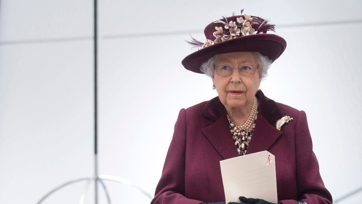 Queen Elizabeth attends a royal event