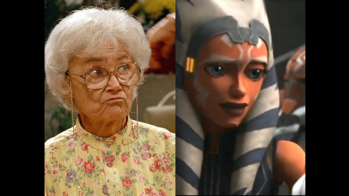 Sophia Petrillo and Ahsoka Tano