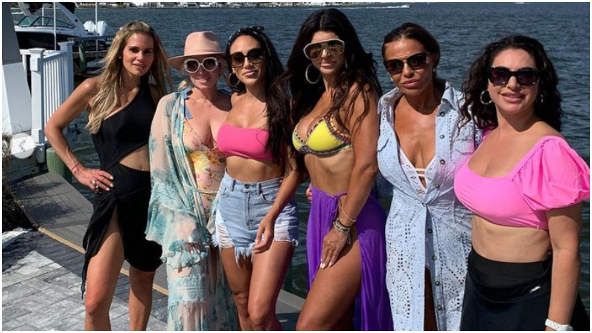 The cast of RHONJ