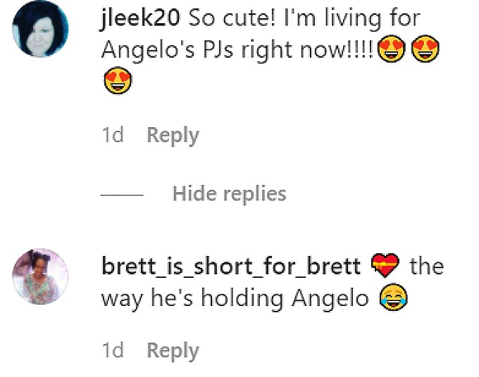 Fans commented on Nicole Polizzi's IG post.