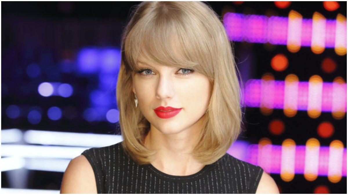 Taylor Swift on The Voice.