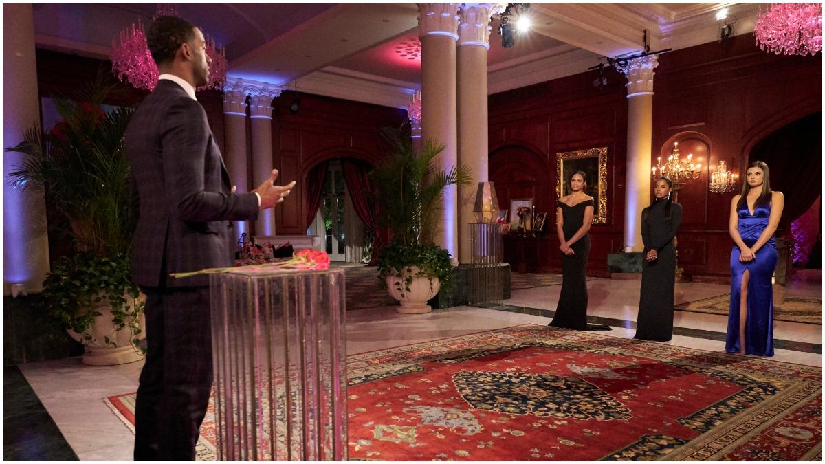Matt James, Bri, Rachael and Michelle of The Bachelor.
