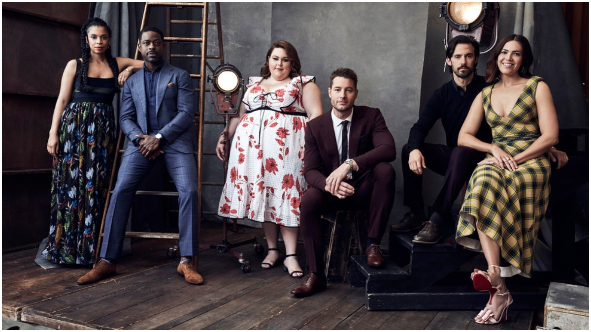 The cast of NBC's This Is Us.