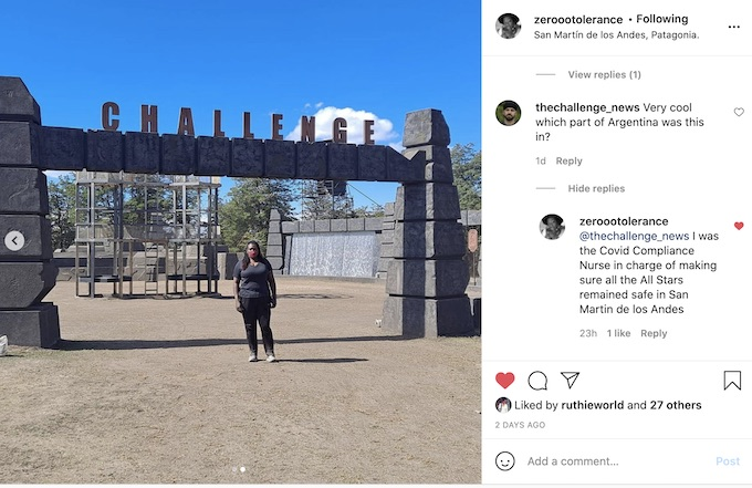 the challenge all stars filming location details